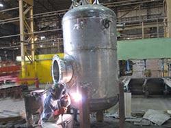 Reactorsaz filter front