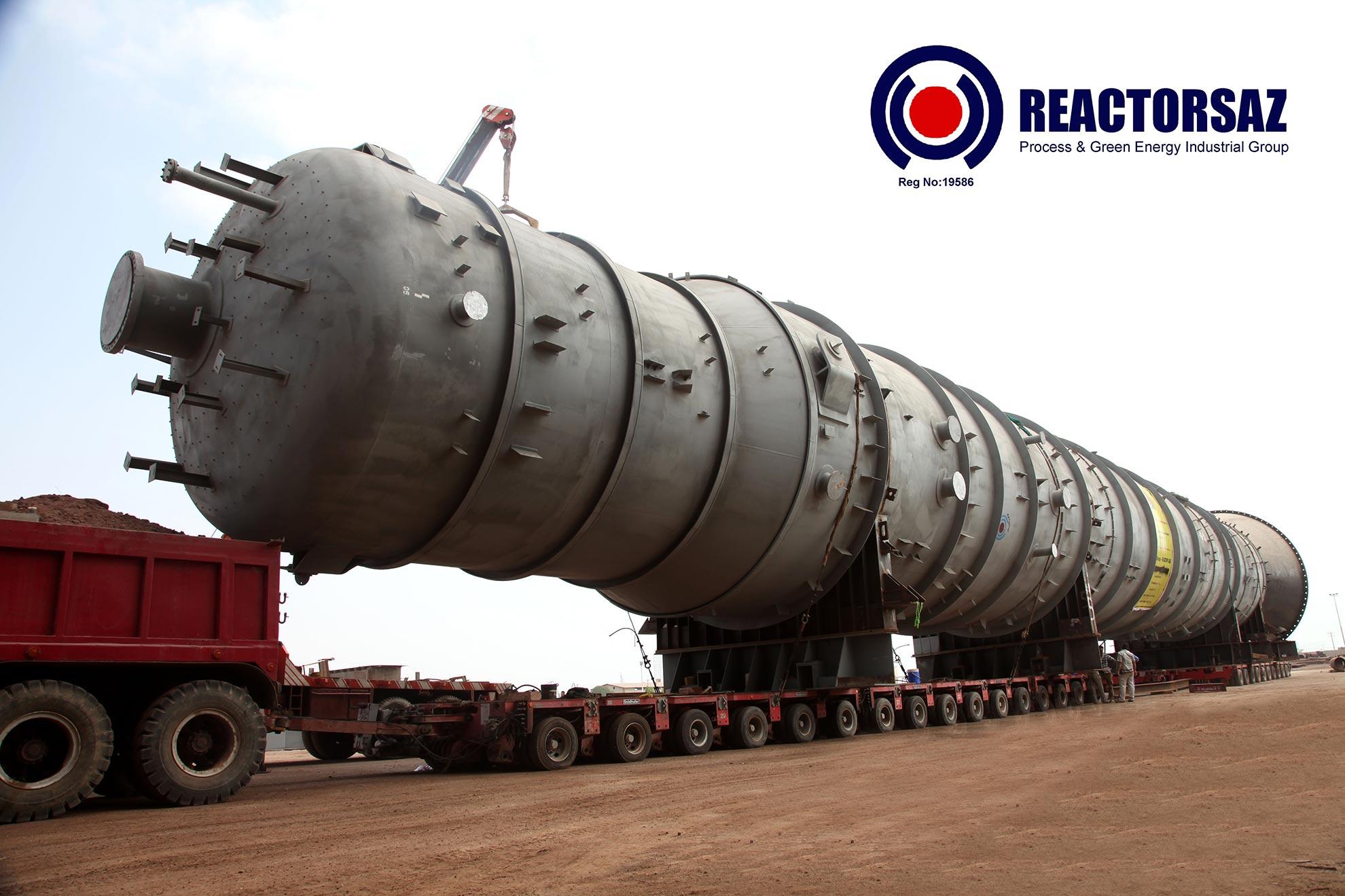 Reactorsaz tower column big