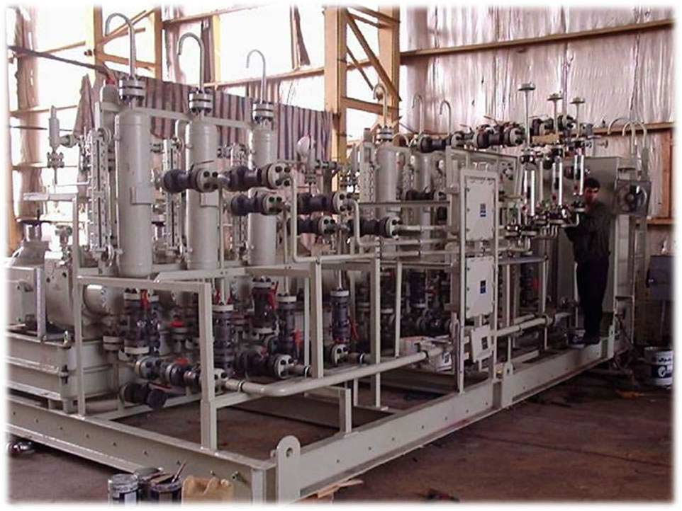 Glycol injection