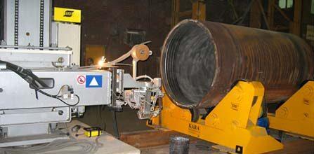 overlay cladding machine